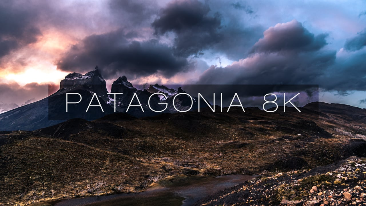 time lapse della patagonia