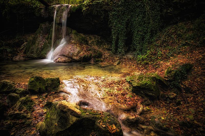 le cascate del bucamante