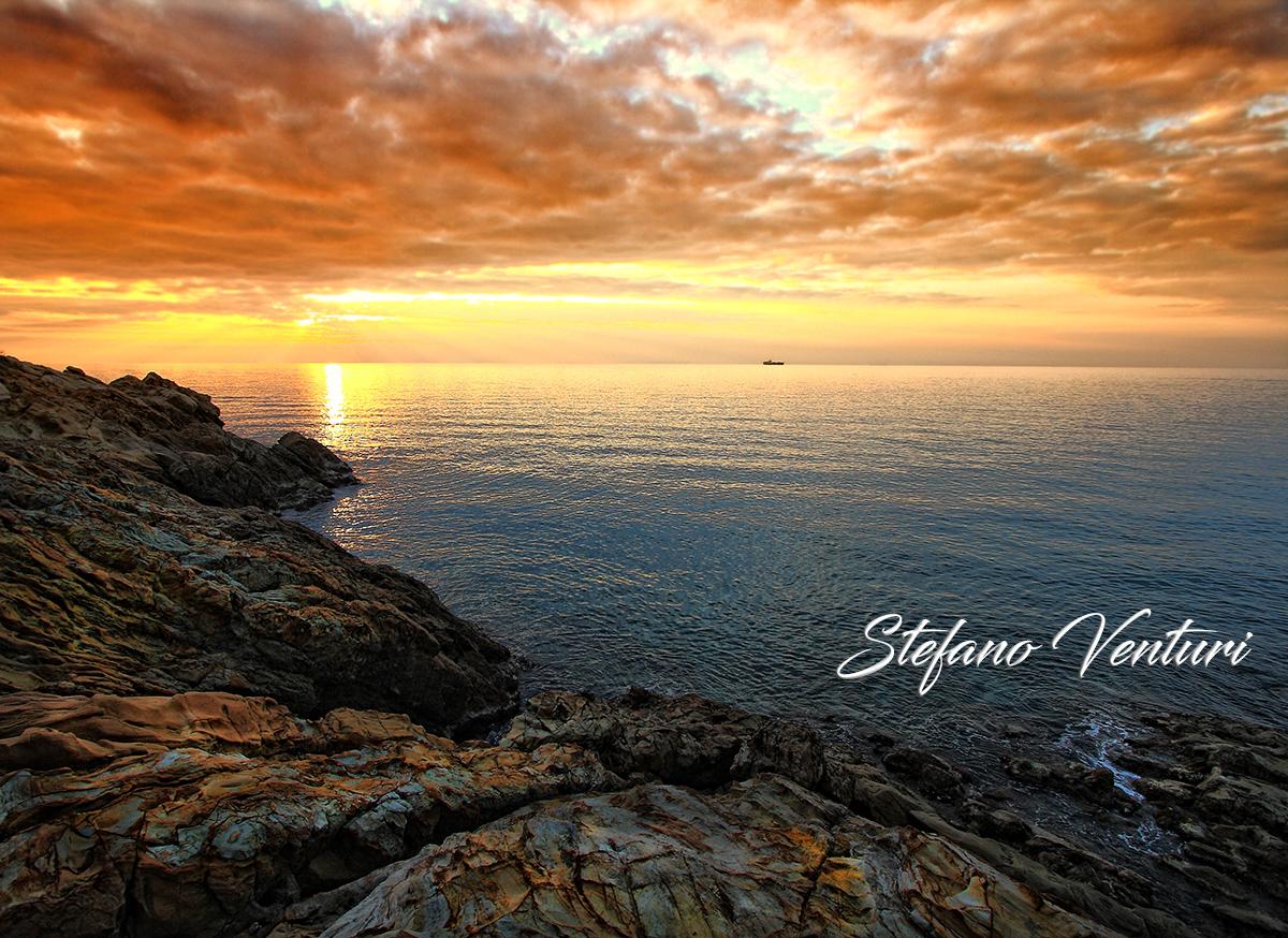 Il mare al calar della sera