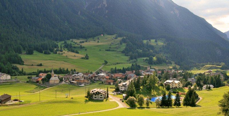 villaggio svizzero