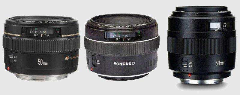 Yongnuo 50mm f/1.4 II