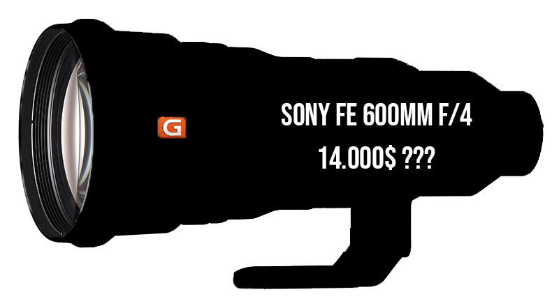 Sony FE 600mm f/4