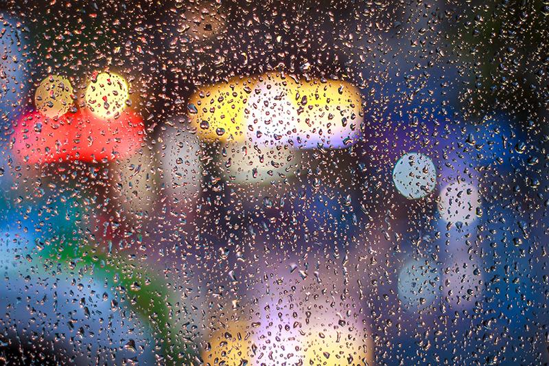 Fotografare sotto la pioggia