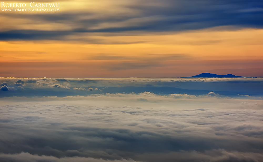 Montagne e nuvole