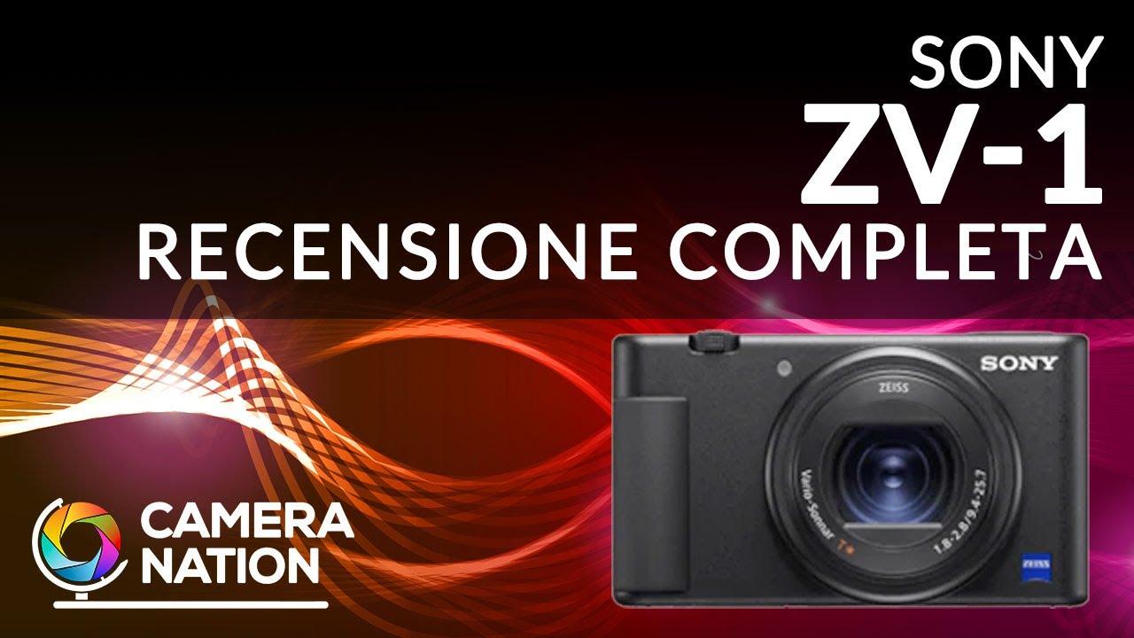 Sony ZV-1: perfetta per i Vlogger. Ecco la nostra recensione completa