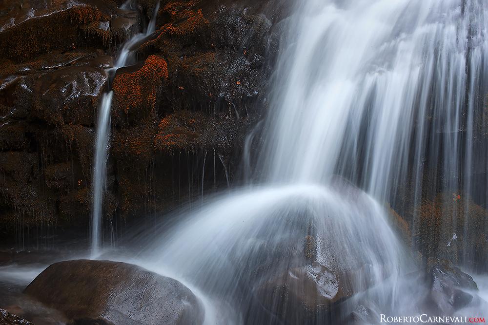 Come fotografare una cascata in montagna